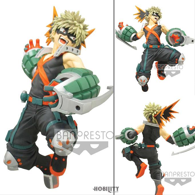 My Hero Academia The Amazing Heroes Vol 3 Katsuki Bakugo Figure