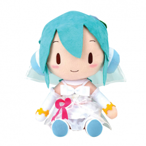Bride Hatsune Miku White Dress Plushie