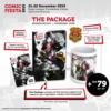 Comic Fiesta The Package