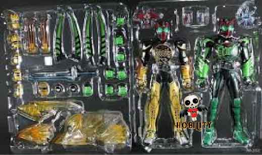 Kamen Rider OOO Takakiraiba & Takatorartar