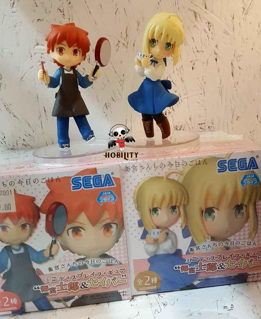 Today/'s Menu for the Emiya Family Illya Character MDF Mini Display Figure Ver.2