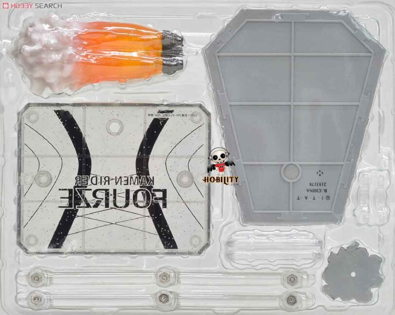 Kamen Rider Fourze Stand & Effect Set