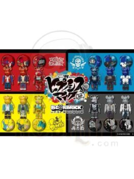 Hypnosis Mike x Be@rbrick Kubrick Bear Mini Doll Set + Badge Box