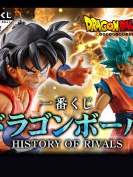Dragon Ball History of Rivals