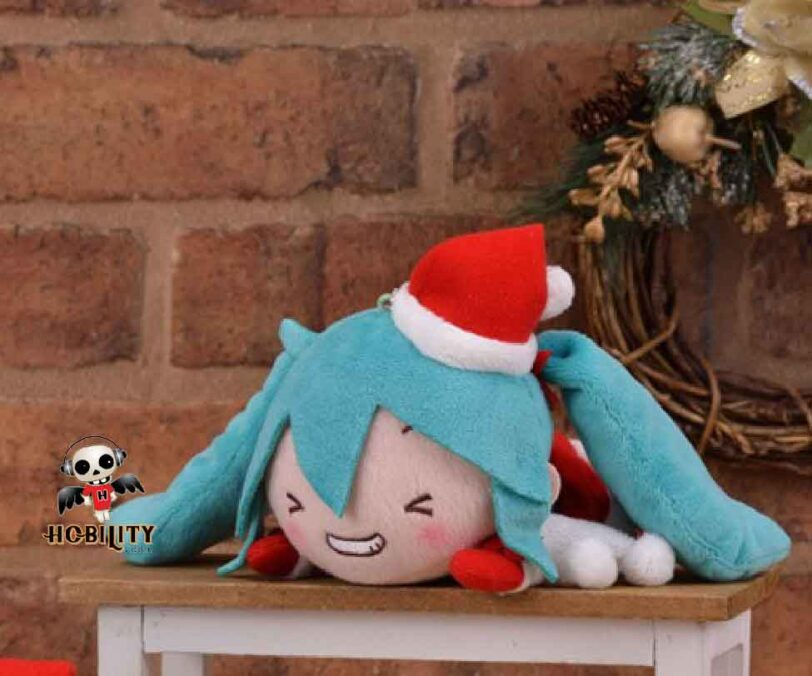 Hatsune Miku Christmas 2018 - closed eye