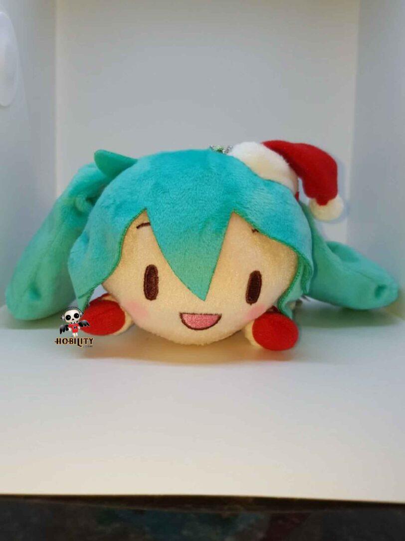 Hatsune Miku Christmas 2018 - happy face