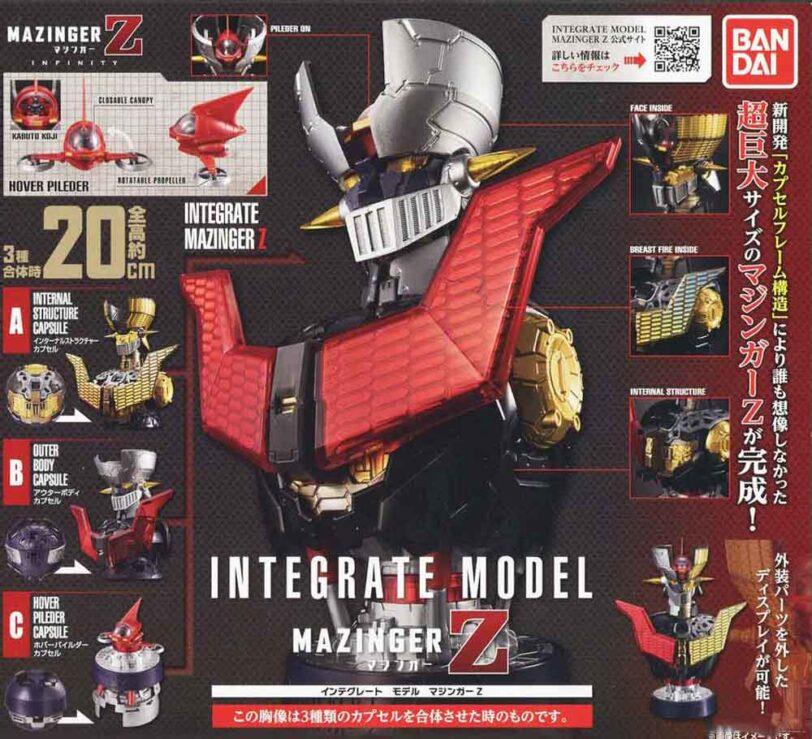 Integrate Model Mazinger Z