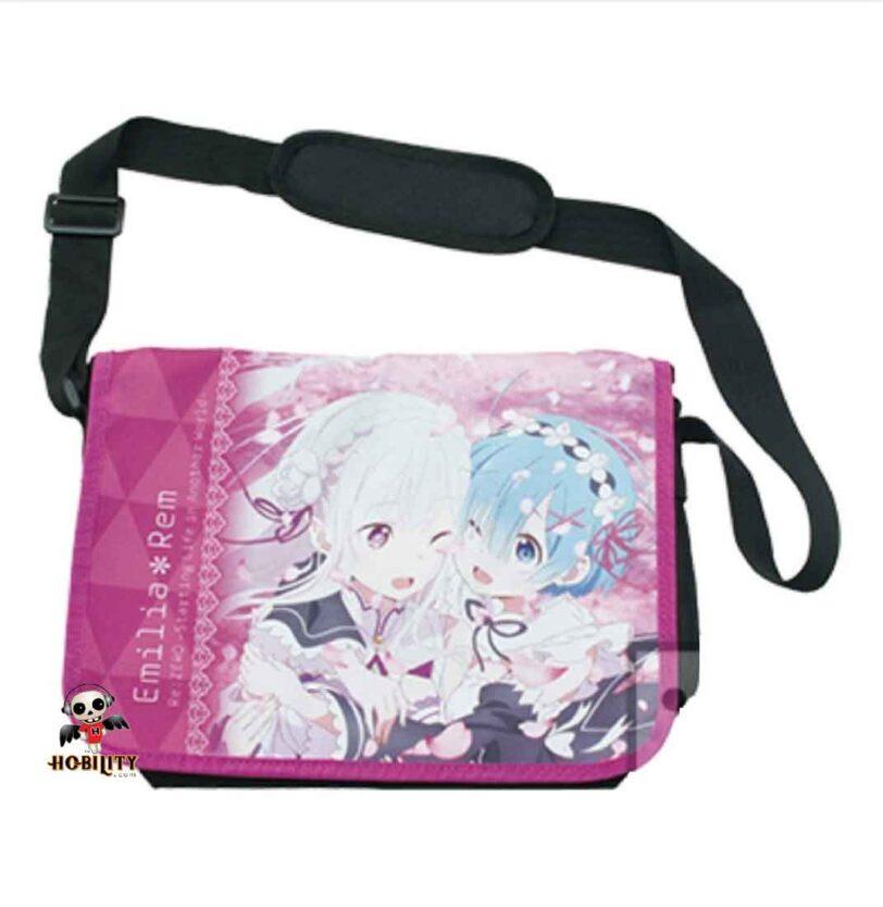 Re: Zero - Full Color Messenger Bag (Emilia & REM)