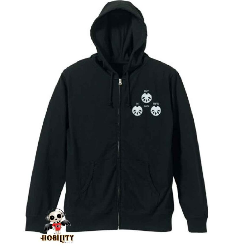Hatsune Miku V4X - light Hoodie Black