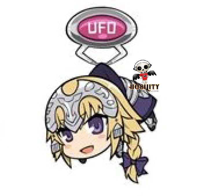 Fate/Apocrypha UFO Tsumamare Acrylic Keychain Mascot Vol. 2