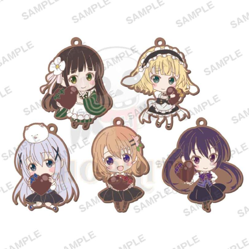Is the order a rabbit? rubber strap vol.3