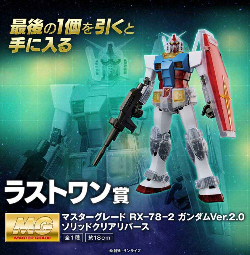 Mobile Suit Gundam Gunpla 40th Anniversary