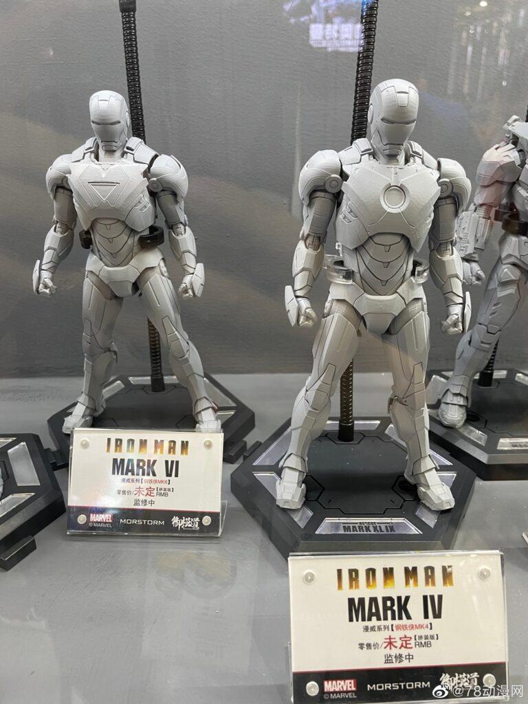 Eastern Model - 1/9 Iron Man & Iron Spider