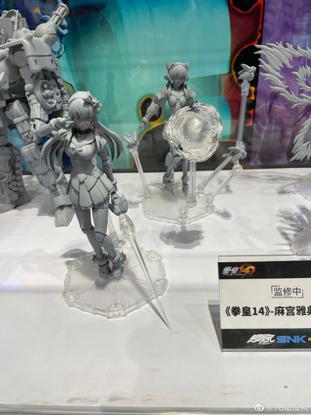 YCY - King of Fighters 14 - Athena Asamiya, Shinanui Mai, Nakoruru